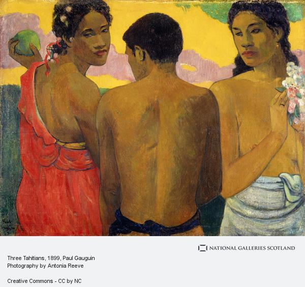 Paul Gauguin, Three Tahitians (1899)