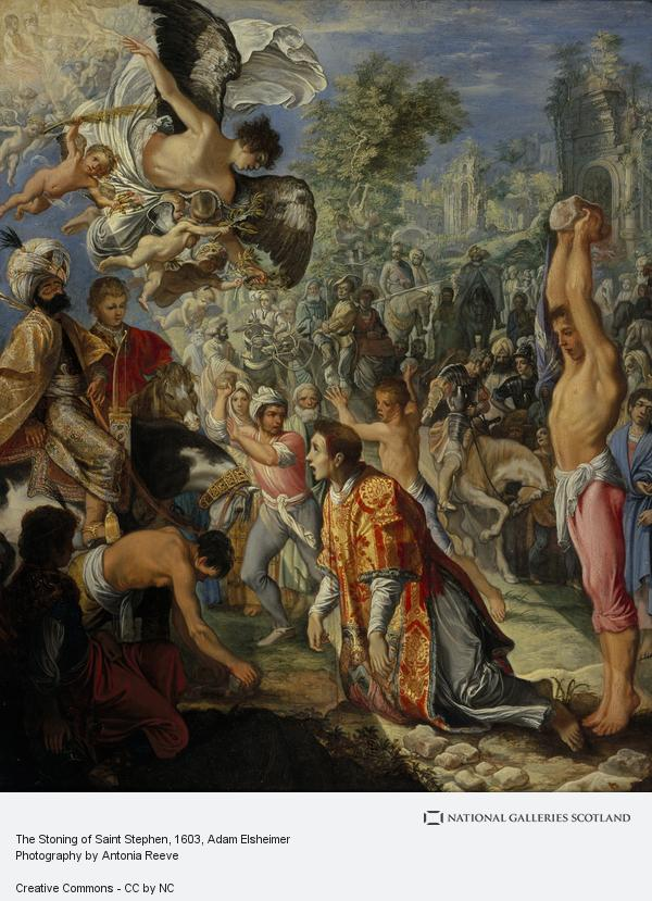 Adam Elsheimer, The Stoning of Saint Stephen (About 1603 - 1604)
