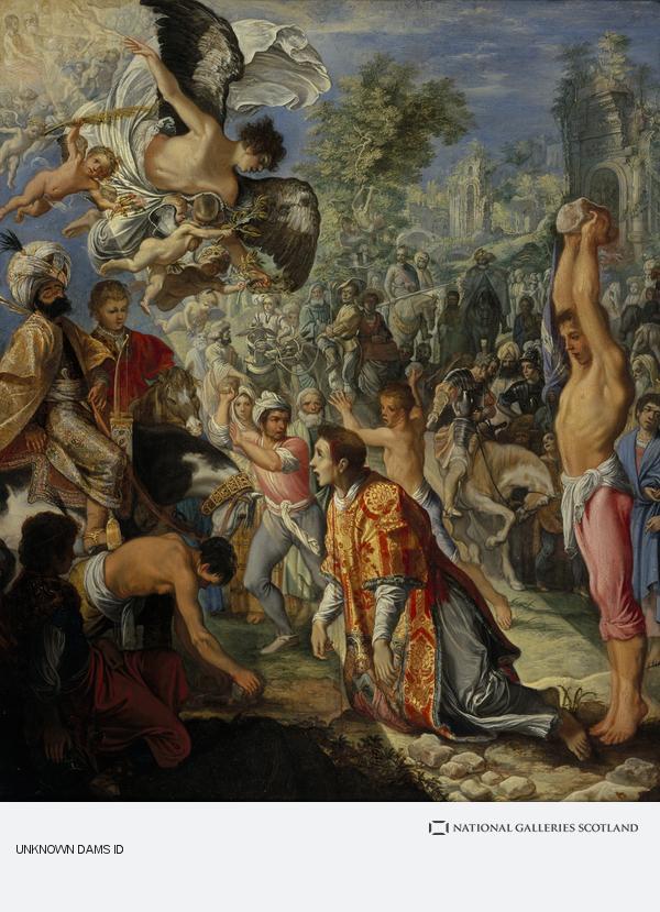 Adam Elsheimer, The Stoning of Saint Stephen (About 1603 - 1604)