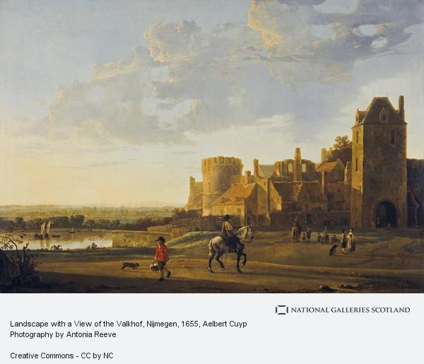 Aelbert Cuyp, Landscape with a View of the Valkhof, Nijmegen