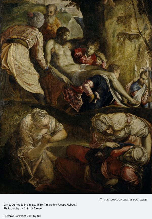Tintoretto, Christ Carried to the Tomb