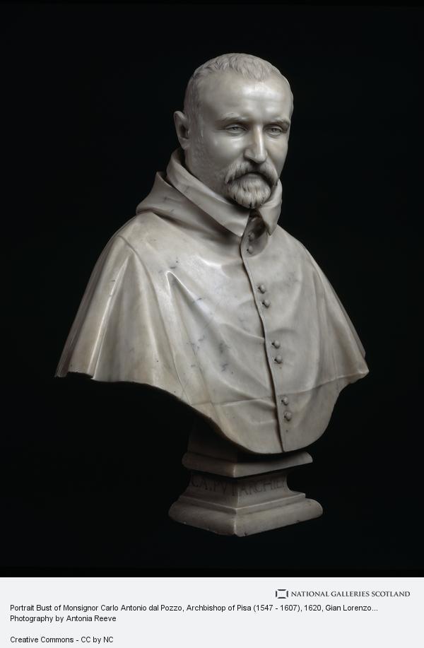 Gian Lorenzo Bernini, Portrait Bust of Monsignor Carlo Antonio dal Pozzo, Archbishop of Pisa (1547 - 1607)
