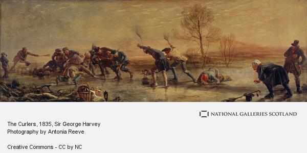 Sir George Harvey, The Curlers (1835)