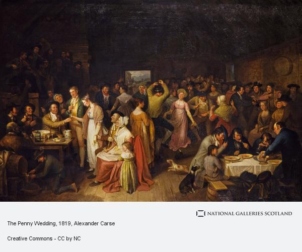 Alexander Carse, The Penny Wedding