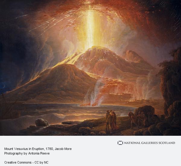 Jacob More, Mount Vesuvius in Eruption