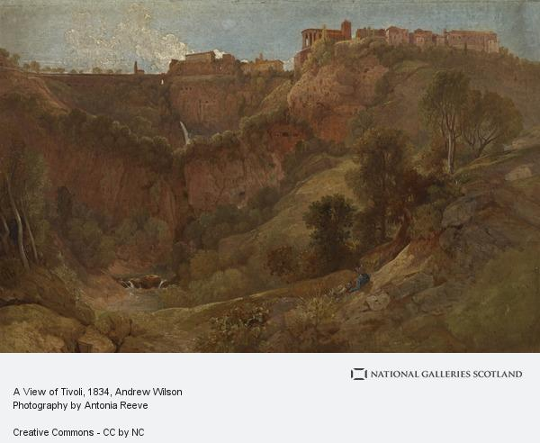 Andrew Wilson, A View of Tivoli