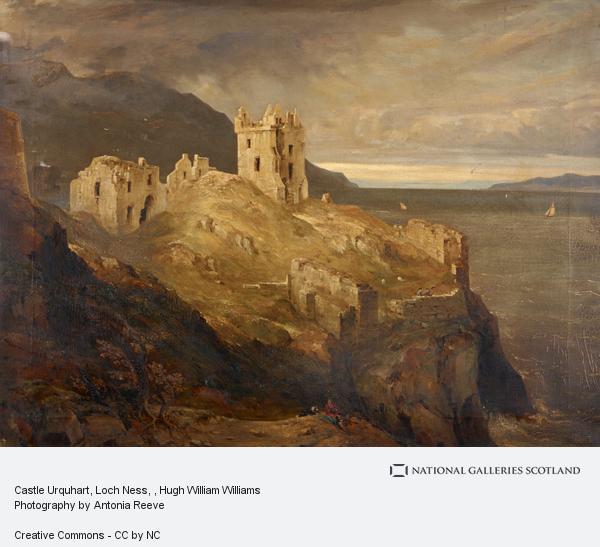 Hugh William Williams, Castle Urquhart, Loch Ness