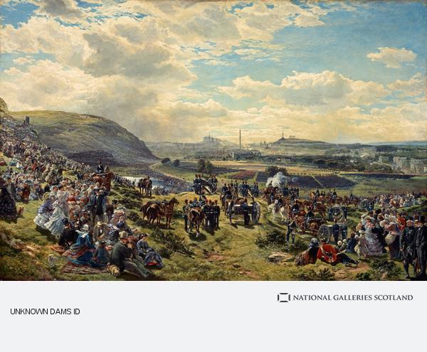 Samuel Bough, Royal Volunteer Review, 7 August 1860