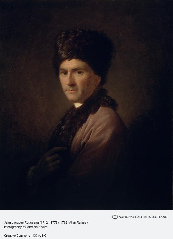 Allan Ramsay, Jean-Jacques Rousseau (1712 - 1778)