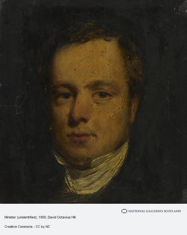 David Octavius Hill, Minister (unidentified)