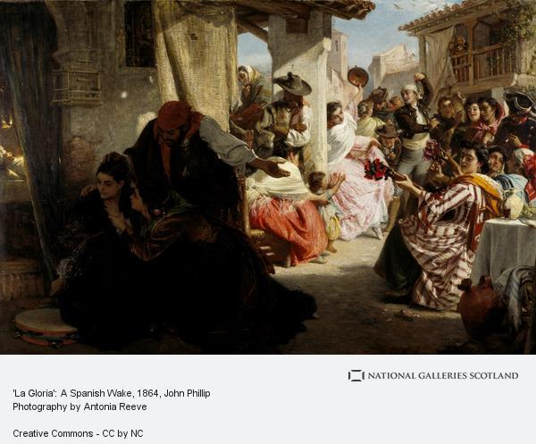 John Phillip, 'La Gloria': A Spanish Wake (1864)