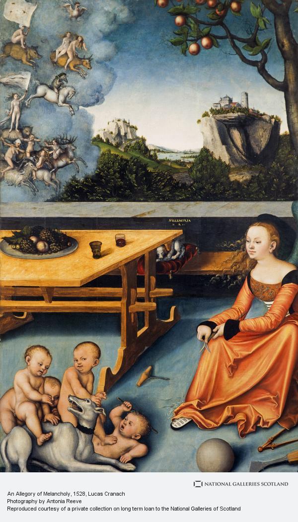 Lucas Cranach, An Allegory of Melancholy