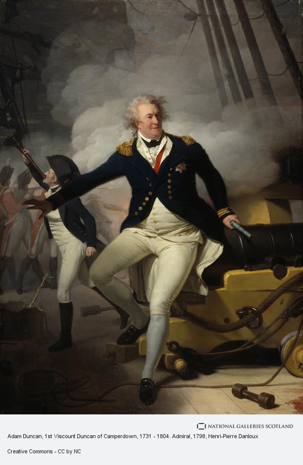 Henri-Pierre Danloux, Adam Duncan, 1st Viscount Duncan of Camperdown, 1731 - 1804. Admiral