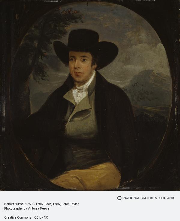 Peter Taylor, Robert Burns, 1759 - 1796. Poet (1786 - 1787)