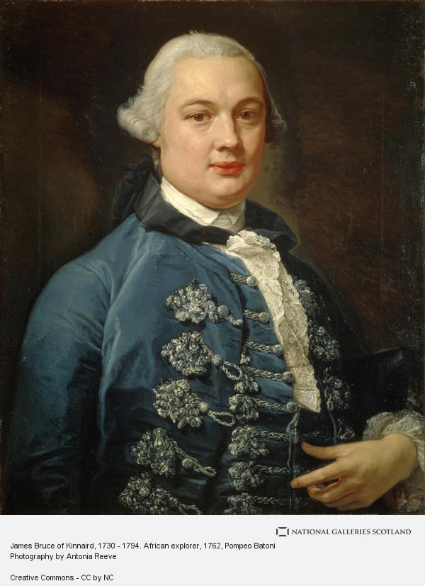 Pompeo Girolamo Batoni, James Bruce of Kinnaird, 1730 - 1794. African explorer