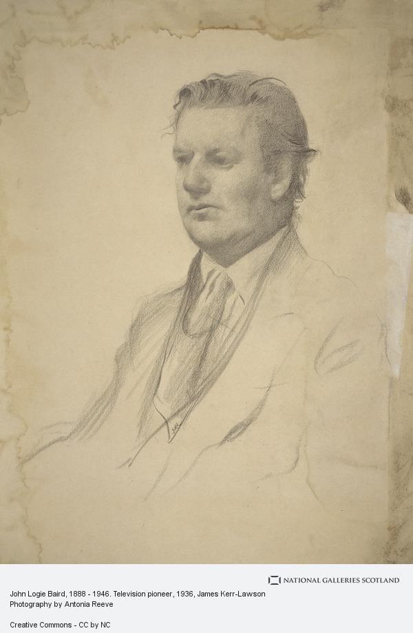 James Kerr-Lawson, John Logie Baird, 1888 - 1946. Television pioneer