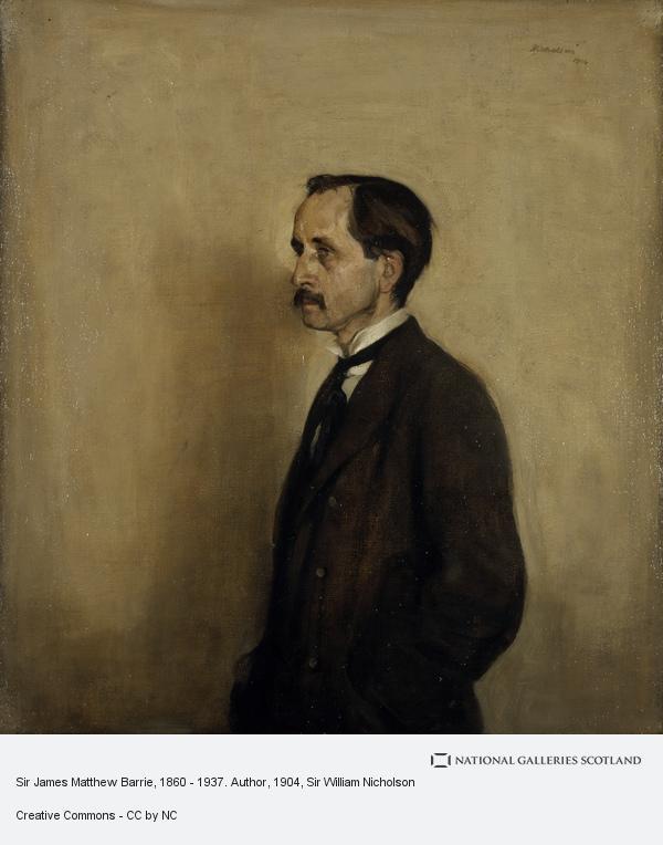 Sir William Nicholson, Sir James Matthew Barrie, 1860 - 1937. Author (1904)