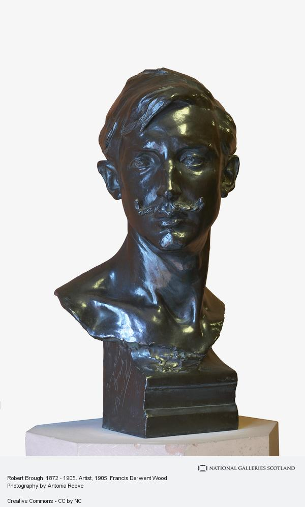 Francis Derwent Wood, Robert Brough, 1872 - 1905. Artist