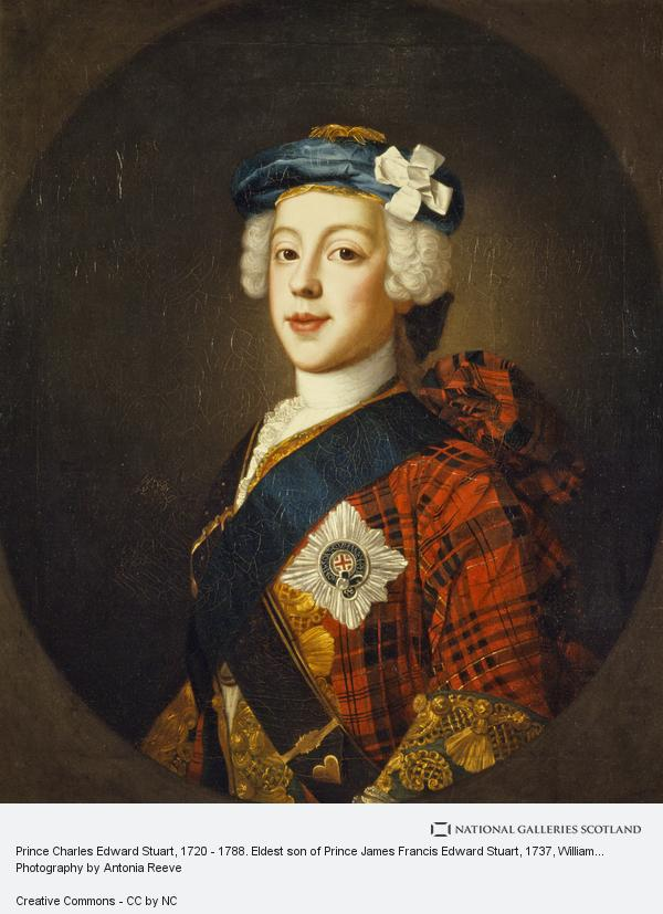 William Mosman, Prince Charles Edward Stuart, 1720 - 1788. Eldest son of Prince James Francis Edward Stuart (About 1750)