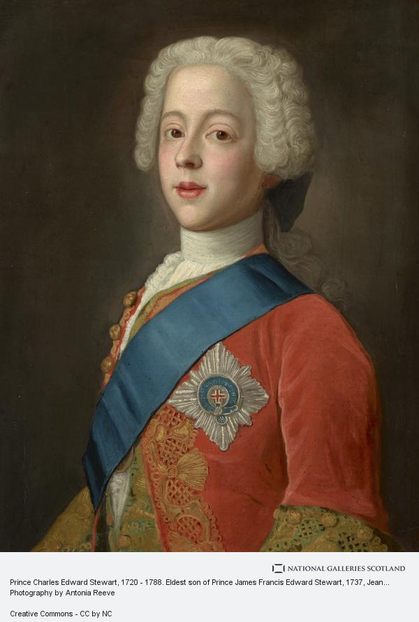Jean-Etienne Liotard, Prince Charles Edward Stewart, 1720 - 1788. Eldest son of Prince James Francis Edward Stewart (1737)