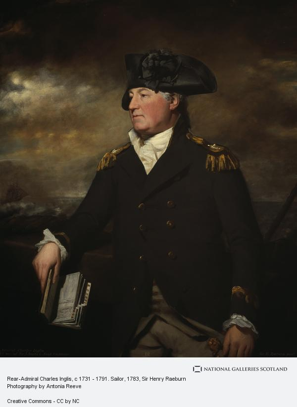 Sir Henry Raeburn, Rear-Admiral Charles Inglis, c 1731 - 1791. Sailor (About 1783 / 1795)