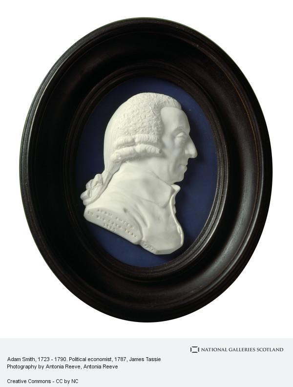 James Tassie, Adam Smith, 1723 - 1790. Political economist