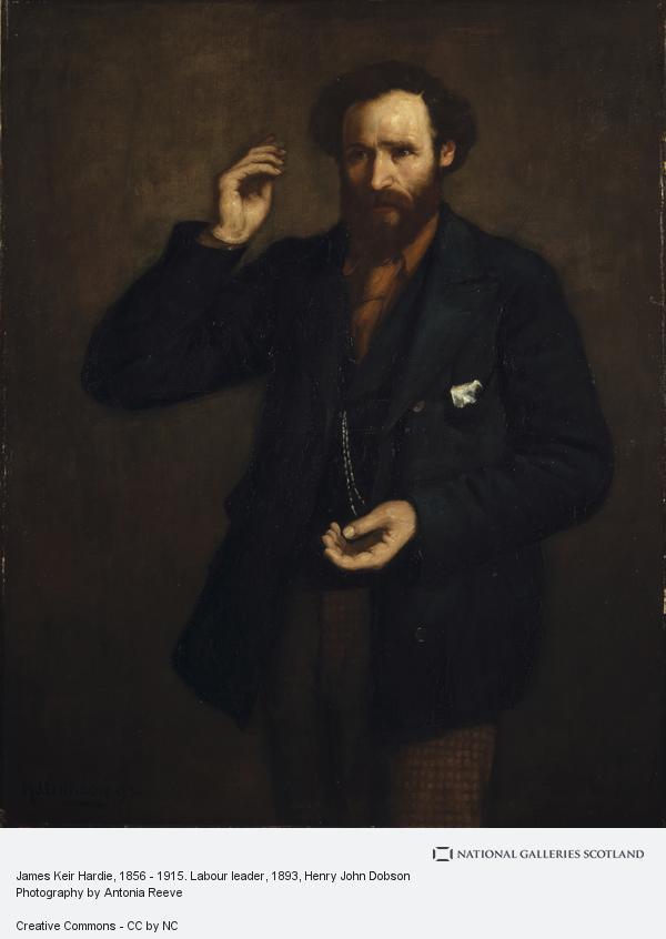 Henry John Dobson, James Keir Hardie, 1856 - 1915. Labour leader (1893)