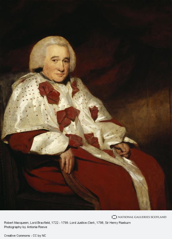 Sir Henry Raeburn, Robert Macqueen, Lord Braxfield, 1722 - 1799. Lord Justice-Clerk (About 1798)
