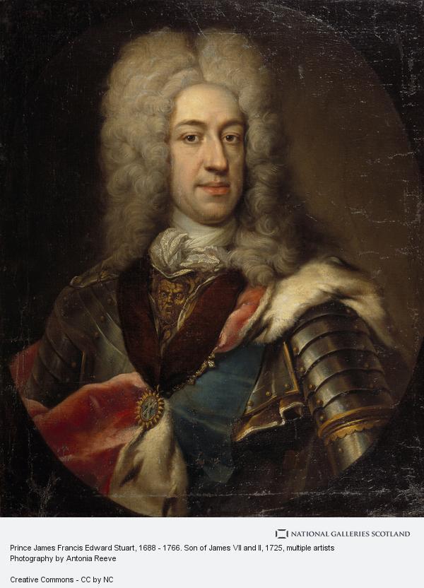 E. Gill, Prince James Francis Edward Stuart, 1688 - 1766. Son of James VII and II