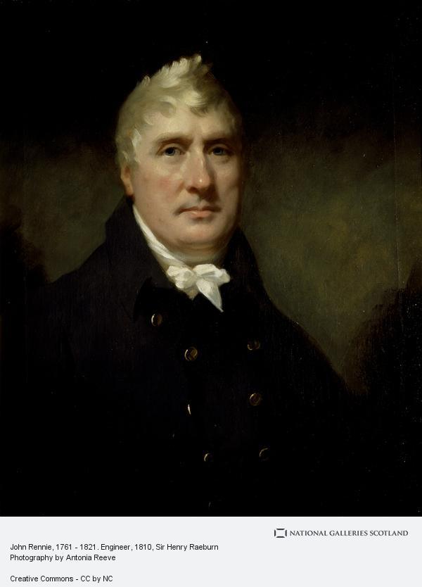 Sir Henry Raeburn, John Rennie, 1761 - 1821. Engineer (About 1810)