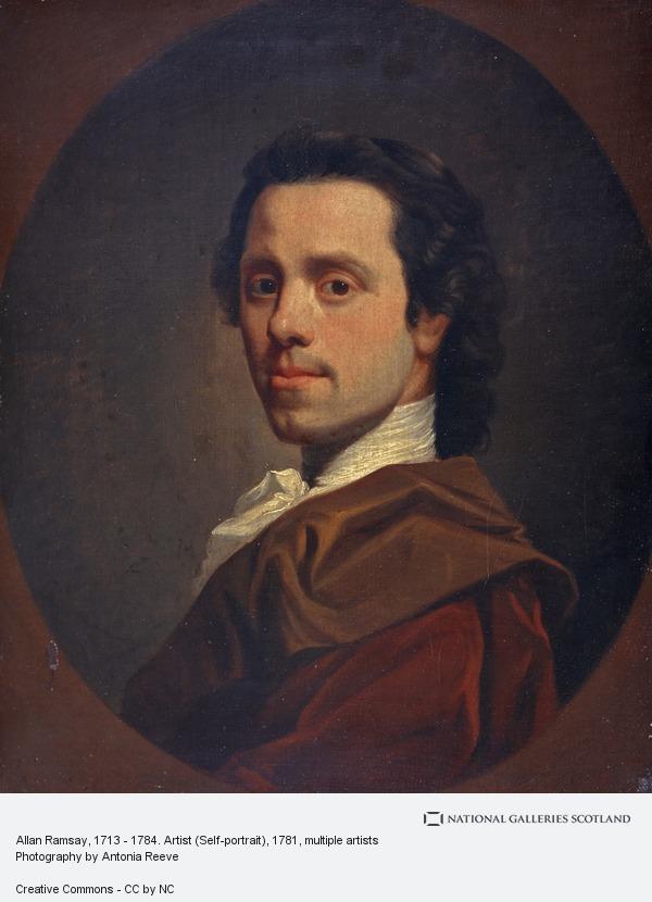 Alexander Nasmyth, Allan Ramsay, 1713 - 1784. Artist (Self-portrait)