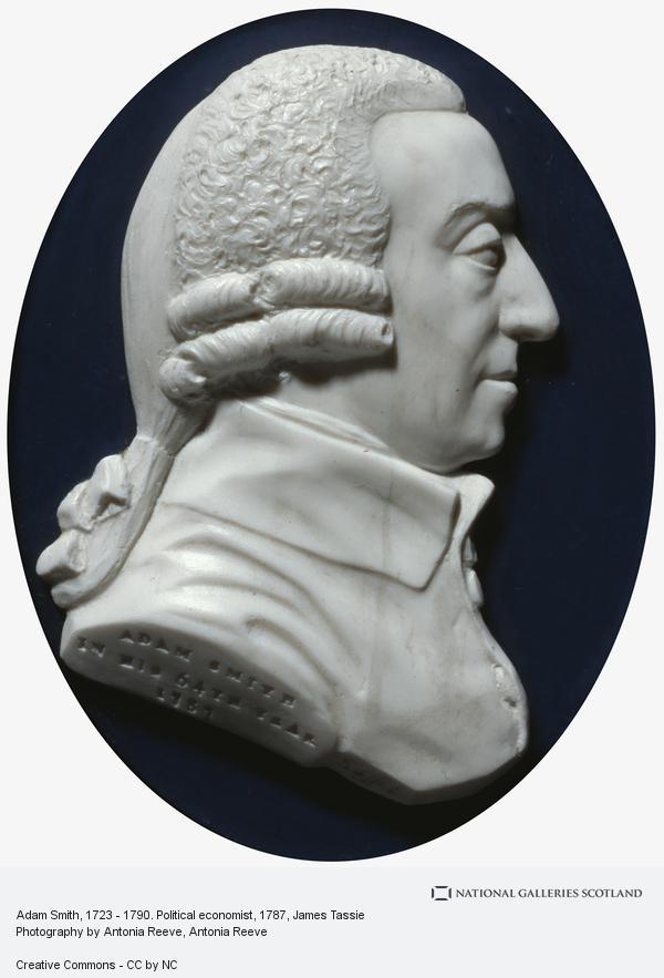 James Tassie, Adam Smith, 1723 - 1790. Political economist (Dated 1787)