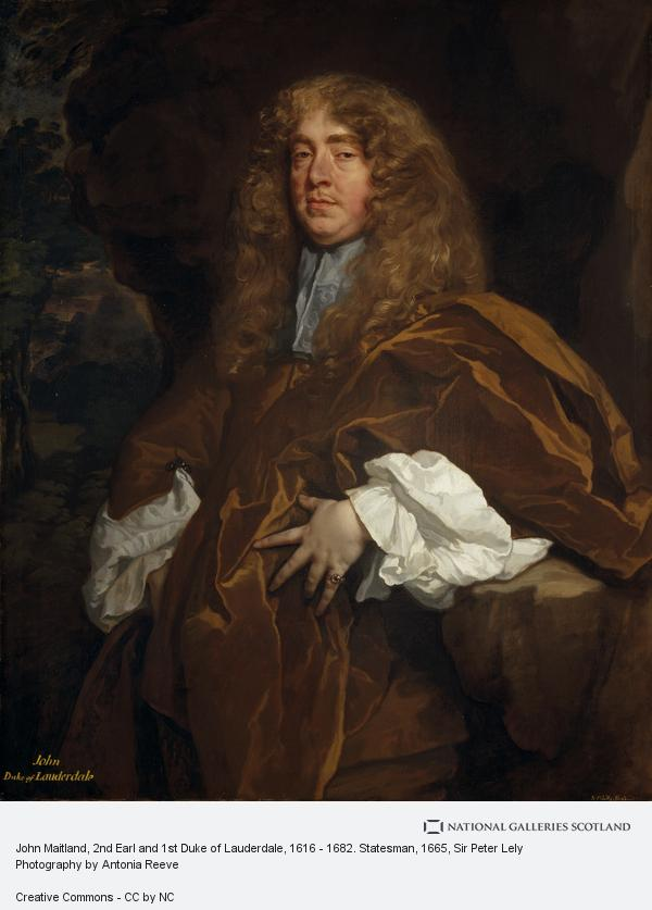Sir Peter Lely, John Maitland, 2nd Earl and 1st Duke of Lauderdale, 1616 - 1682. Statesman (About 1665)