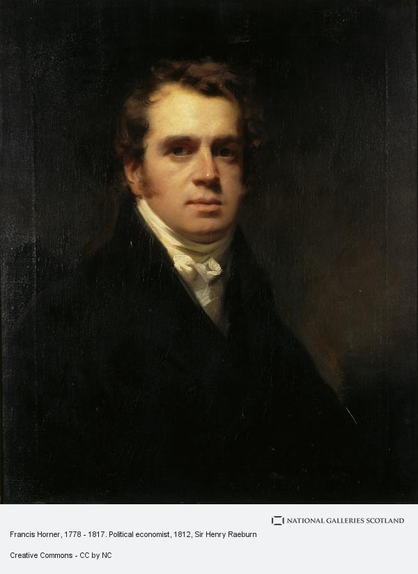 Sir Henry Raeburn, Francis Horner, 1778 - 1817. Political economist