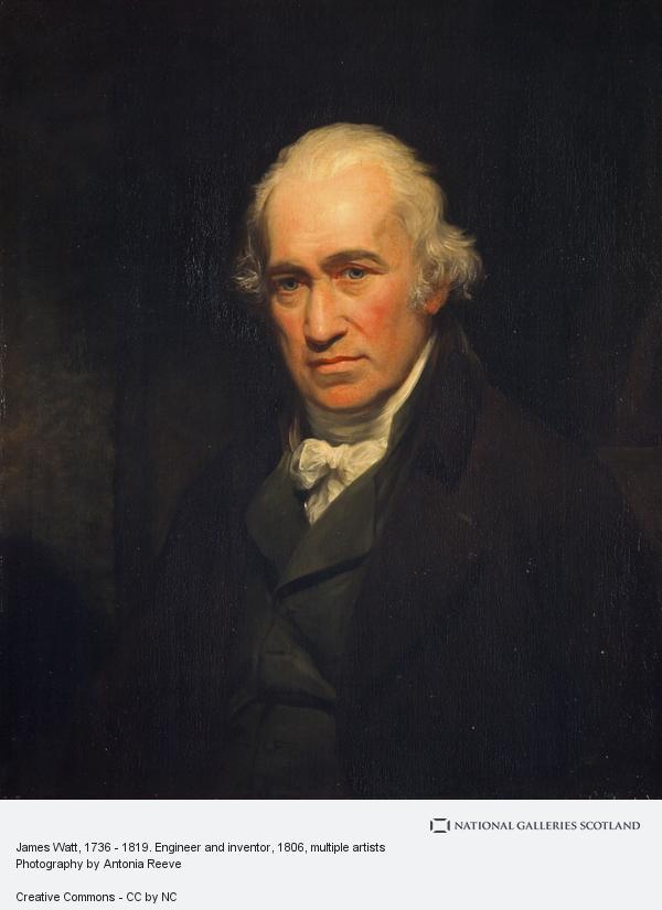 John Partridge, James Watt, 1736 - 1819. Engineer, inventor of the steam engine