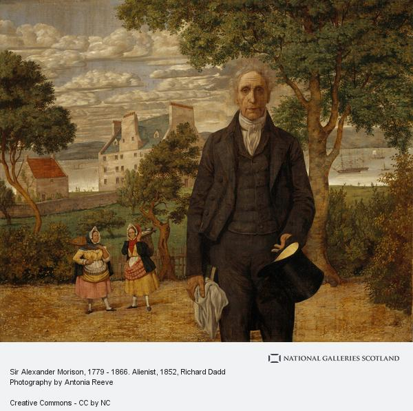 Richard Dadd, Sir Alexander Morison, 1779 - 1866. Alienist (1852)