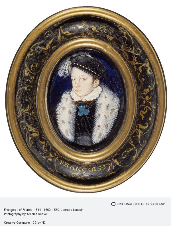 Leonard Limosin, François II of France, 1544 - 1560
