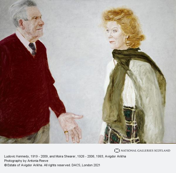 Avigdor Arikha, Ludovic Kennedy, 1919 - 2009, and Moira Shearer, 1926 - 2006 (1993)