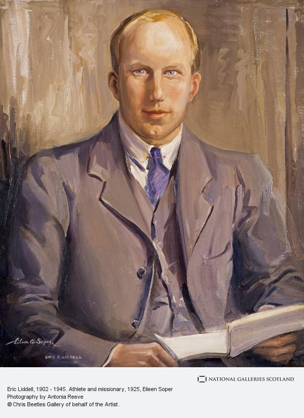 Eileen Soper, Eric Liddell, 1902 - 1945. Athlete and missionary