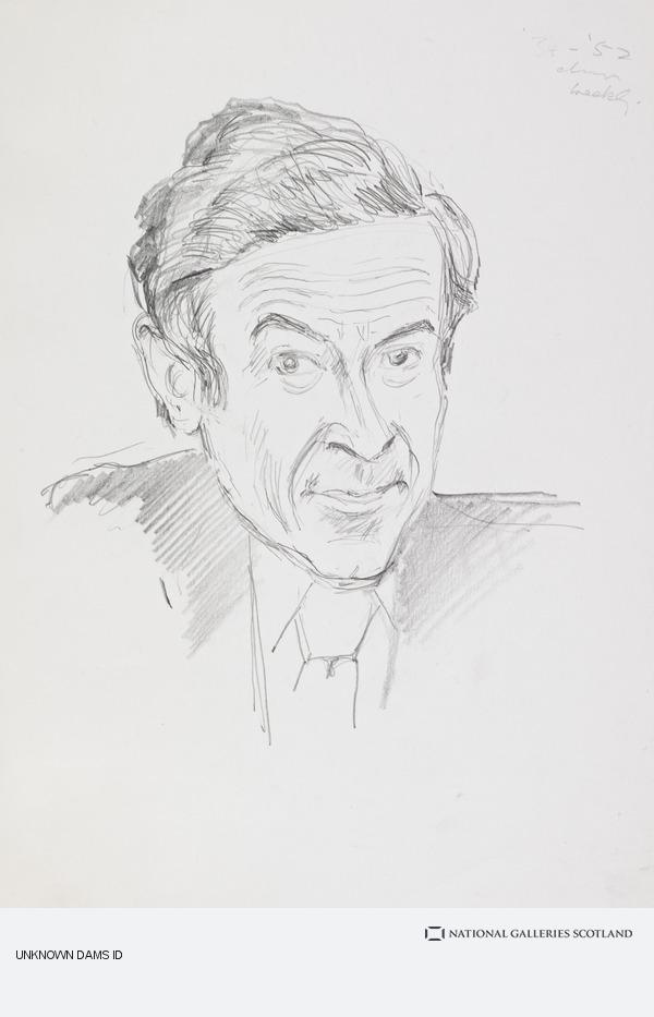 Emilio Coia, Stanley Baxter, b. 1926. Entertainer and artist (late 1970s / early 1980s)