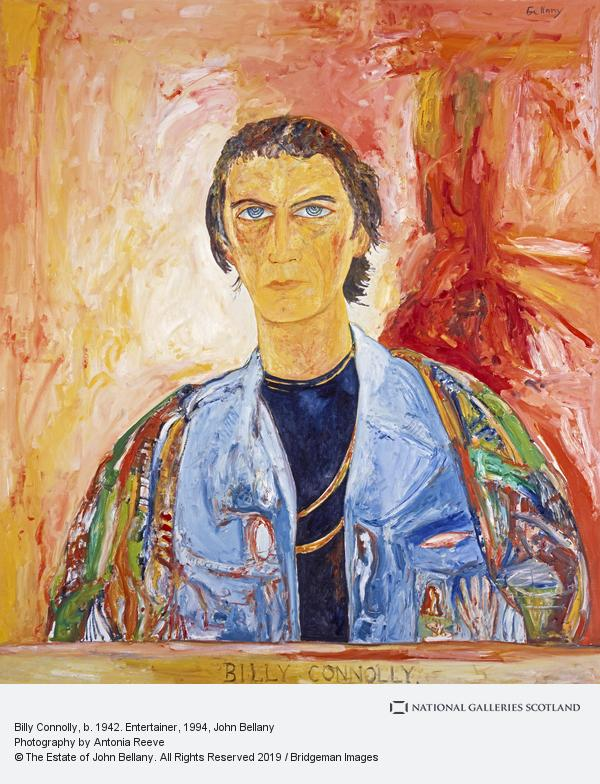 John Bellany, Billy Connolly, b. 1942. Entertainer (after 1972)