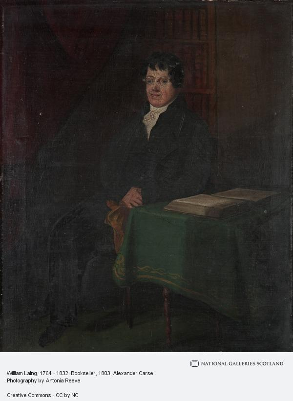 Alexander Carse, William Laing, 1764 - 1832. Bookseller