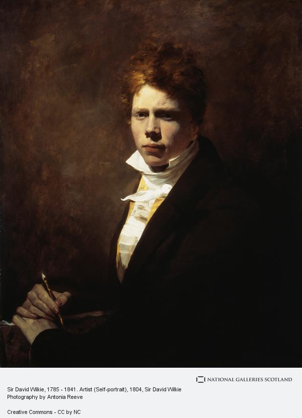 Sir David Wilkie, Sir David Wilkie, 1785 - 1841. Artist (Self-portrait)