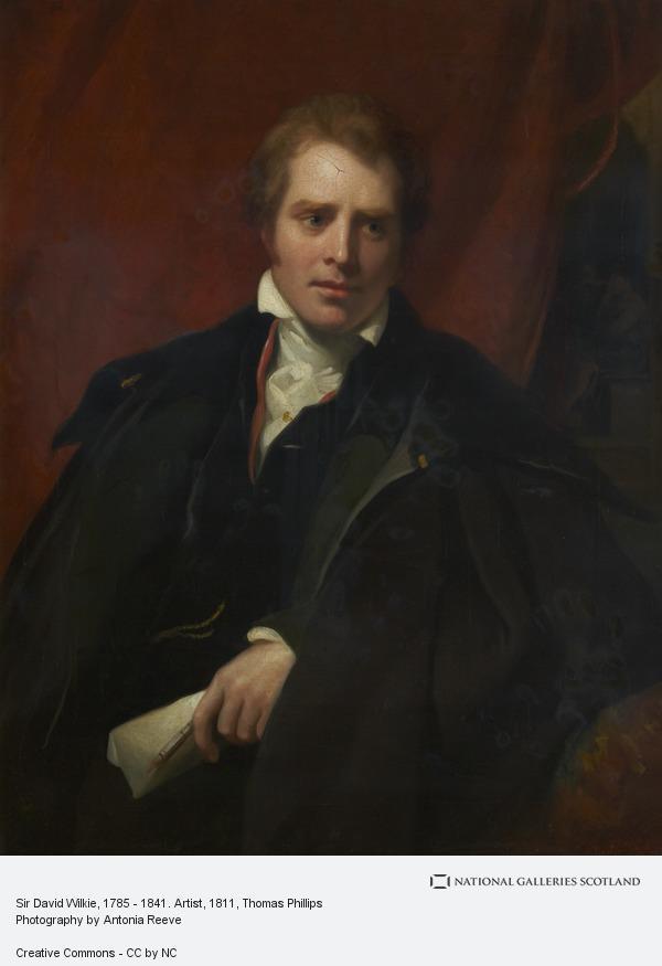 Thomas Phillips, Sir David Wilkie, 1785 - 1841. Artist