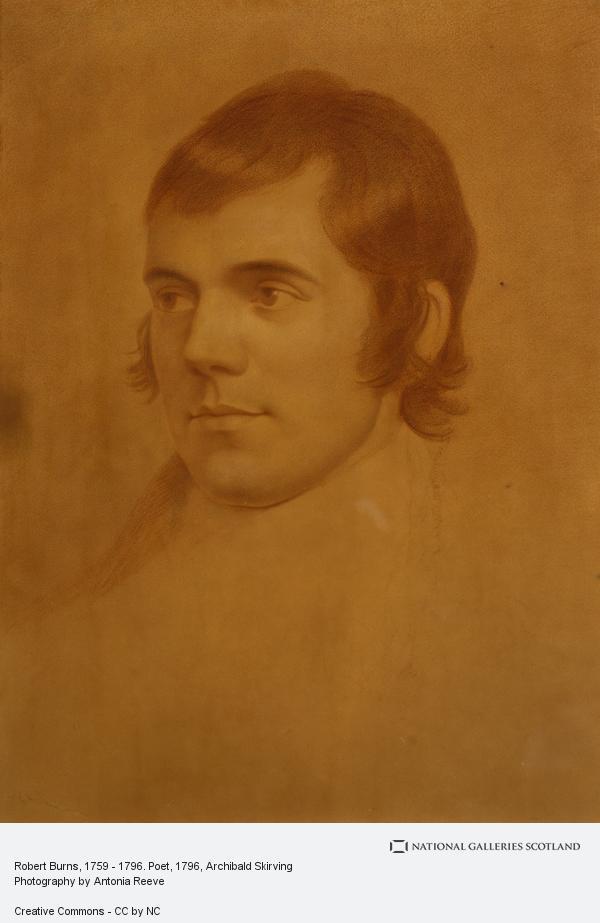 Archibald Skirving, Robert Burns, 1759 - 1796. Poet (1796 - 1798)
