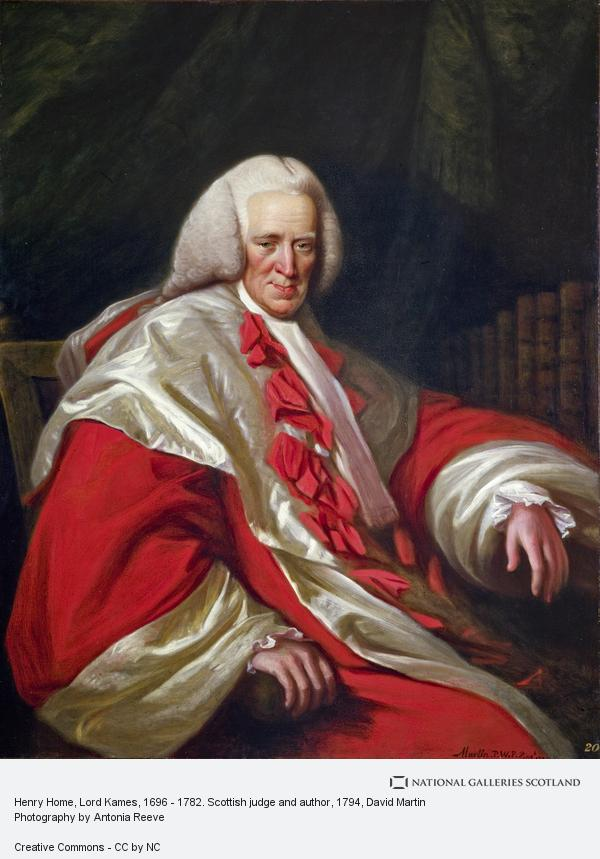 David Martin, Henry Home, Lord Kames, 1696 - 1782. Scottish judge and author