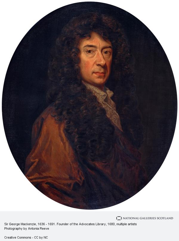 Unknown, Sir George Mackenzie, 1636 - 1691. Founder of the Advocates Library (1680s)