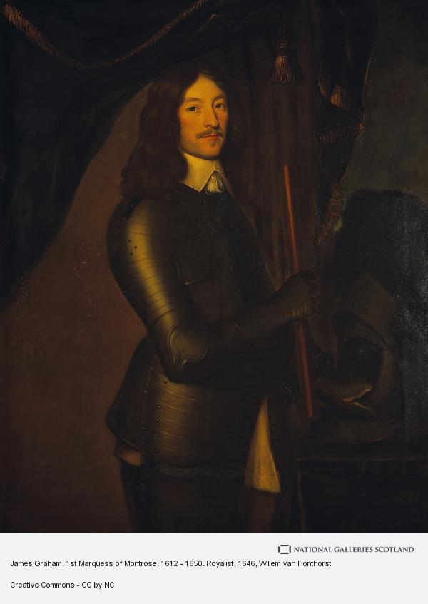Willem van Honthorst, James Graham, 1st Marquess of Montrose, 1612 - 1650. Royalist (1646 - 1649)