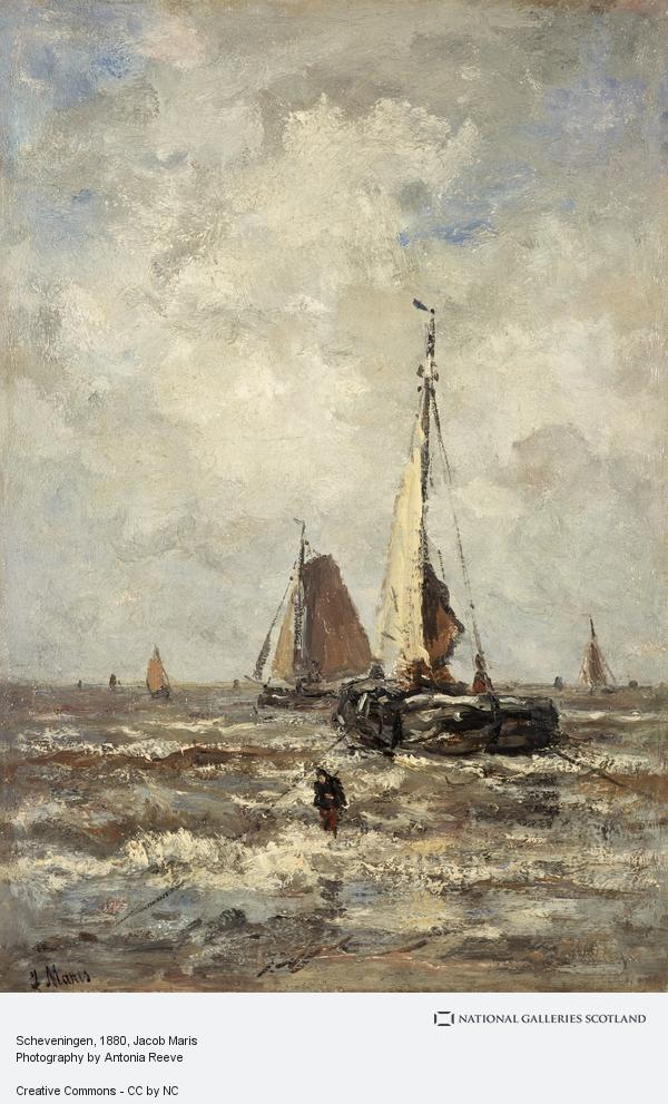 Jacob Maris, Scheveningen (About 1880 - 1885)