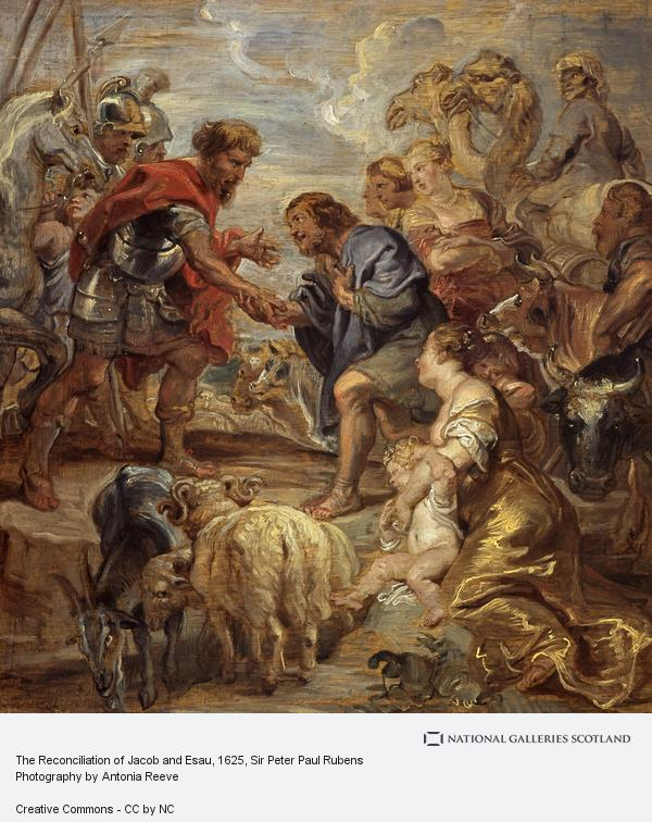 Sir Peter Paul Rubens, The Reconciliation of Jacob and Esau
